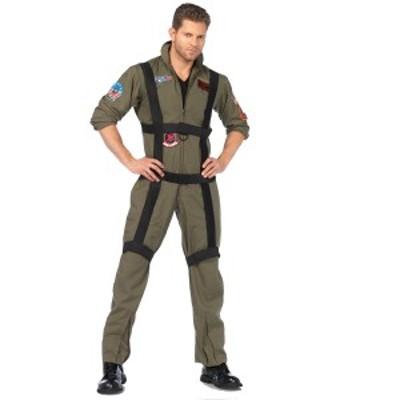 トップガン コスプレ コスチューム 仮装 衣装 海軍 空軍 ツナギ トムクルーズ マーベリック TOP GUN