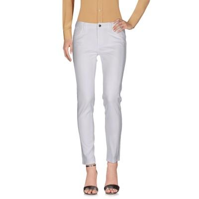 リュー ジョー LIU •JO パンツ ホワイト 26 コットン 98% / ポリウレタン 2% パンツ