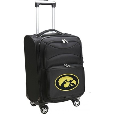 NCAA メンズ スーツケース・キャリーバッグ バッグ Spinner Carry On Suitcase Iowa Hawkeyes