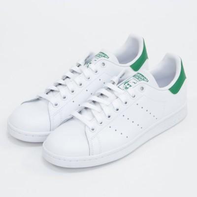 adidas ORIGINALS(アディダス オリジナルス)STAN SMITH W(スタンスミスW) B24105(FTWWHT/FTWWHT/GREEN) タイムレスなデザインが光るスニーカー