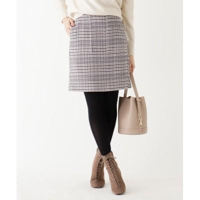 index / 【WEB限定サイズ】チェックトラペーズミニスカート WOMEN スカート > スカート