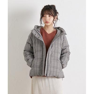 小さいサイズ スタンドカラーショートダウンコート 【小さいサイズ・小柄・プチ】コート, Coat