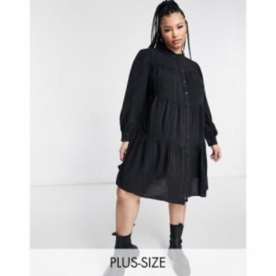 ユアーズ Yours レディース ワンピース ワンピース・ドレス Chambray Tierred Dress In Charcoal グレー