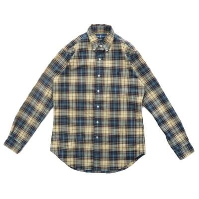 ポロラルフローレン CLASSIC FIT ボタンダウンシャツ オックスフォード チェック柄 サイズ表記:S