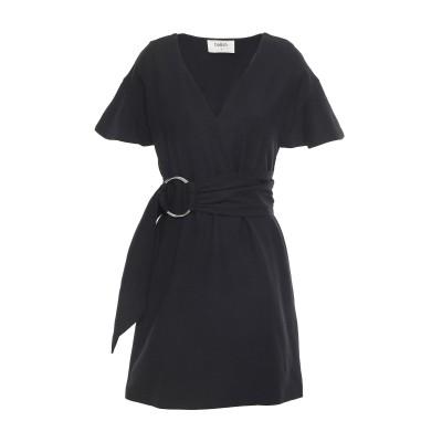 BA&SH ミニワンピース&ドレス ブラック 3 レーヨン 50% / コットン 48% / ゴム 2% ミニワンピース&ドレス