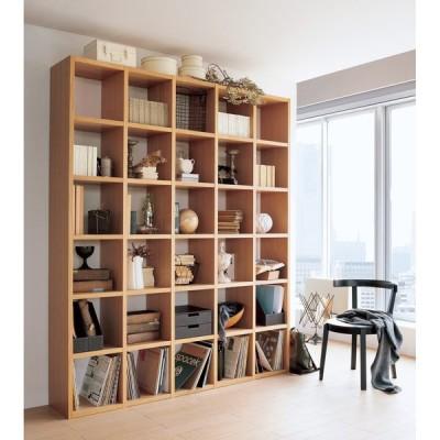家具 収納 本棚 ラック シェルフ 飾り棚 Pombal/ポンバル シェルフ コンクリート 2連セット 高さ224cm H88621