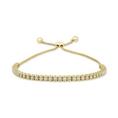 ラップド イン ラブ レディース ブレスレット・バングル・アンクレット アクセサリー Diamond Bolo Bracelet (3/4 ct. t.w.) in 14k Whit