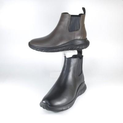 オシャレなレインブーツ レディース レインシューズ SAYA ブーツ サヤ ラボキゴシ 靴 SAYA 50794 B KHA サイドゴア ブーツ 防水 雨靴 長靴 履きやすい ダット