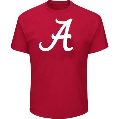 マジェスティック Majestic メンズ Tシャツ 大きいサイズ トップス Big and Tall Alabama Crimson Tide Crimson Short Sleeve T-Shirt