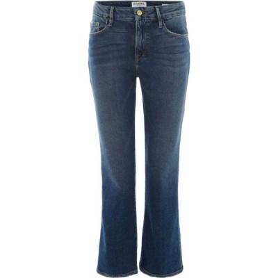 フレーム Frame レディース ジーンズ・デニム ボトムス・パンツ Le Crop Mini Boot Jeans in Elmont Denim Mid Wash