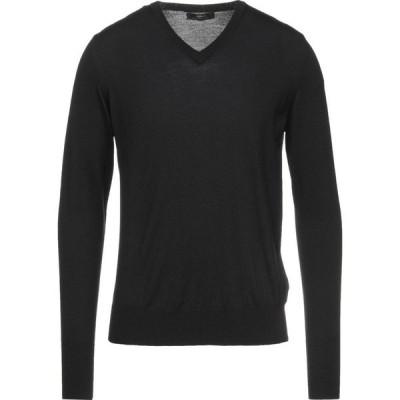 アルファ マッシモ レベッキ ALPHA MASSIMO REBECCHI メンズ ニット・セーター トップス sweater Black