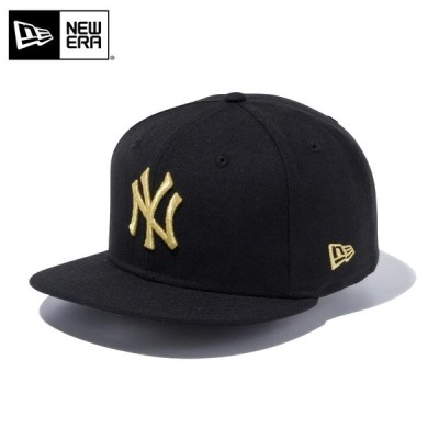 【メーカー取次】 NEW ERA ニューエラ 9FIFTY ニューヨーク・ヤンキース ブラックXゴールドロゴ 12492805 キャップ メンズ 帽子 ブランド【クーポン対象外】