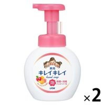 ライオンキレイキレイ 薬用泡ハンドソープ フルーツミックスの香り 本体 250ml 1セット(2個) 【泡タイプ】 ライオン