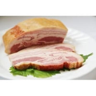 【全国食肉学校】群馬県産冷蔵豚肉を使用した熟成ベーコン(ブロック)