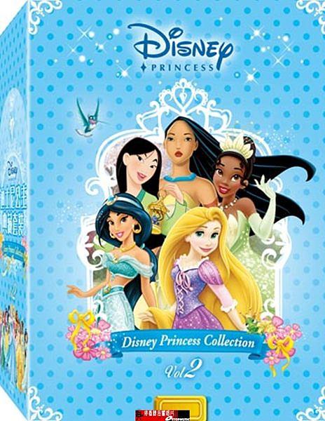 【停看聽音響唱片】【DVD】 迪士尼公主典藏套裝 (二)