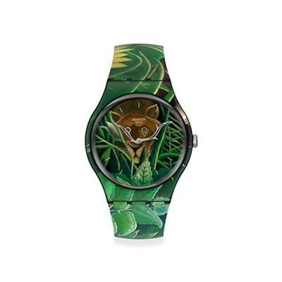 [スウォッチ] 腕時計 スウォッチ SWATCH MOMA SUOZ333 グリーン