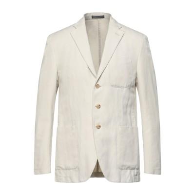 POLO RALPH LAUREN テーラードジャケット ベージュ 50 コットン 50% / 指定外繊維(ヘンプ) 50% テーラードジャケット
