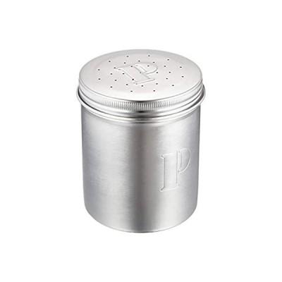 遠藤商事 業務用 調味缶 ジャンボ P缶 (こしょう)[調味料入れ] 18-8ステンレス 日本製 BTY05003