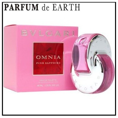 ブルガリ BVLGARI オムニア ピンク サファイヤ EDT SP 40ml 【香水 フレグランス】【母の日 ギフト】
