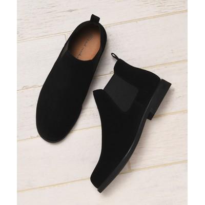 COLLARS / 【Stnd works/スタンドワークス】本革カウレザーサイドゴアショートブーツ MEN シューズ > ブーツ