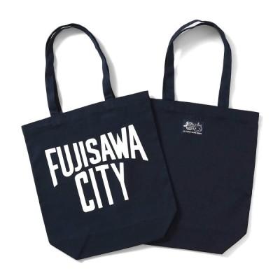 FUJISAWA CITY フジサワシティ LOVEプロジェクト・LAWSON・ふじキュン キャンバス エコバッグ NAVY ネイビー