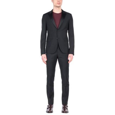 ヴァレンティノ VALENTINO スーツ ブラック 54 コットン 84% / モヘヤ 16% スーツ