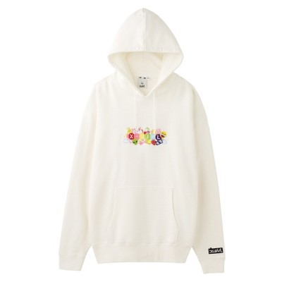 X-girl / EMOJI SWEAT HOODIE WOMEN トップス > パーカー