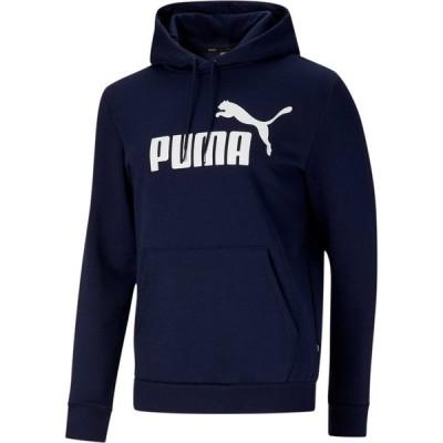 プーマ パーカー・スウェットシャツ アウター メンズ PUMA Men's Essential Hoodie Big Logo Peacoat