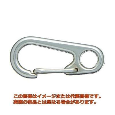 ニッサチェイン ニッケルスプリングスナップ(34mm×4個入り) TSS106