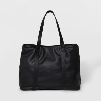 ユニバーサルスレッド Universal Thread レディース トートバッグ バッグ Triple Compartment Tote Handbag - Black