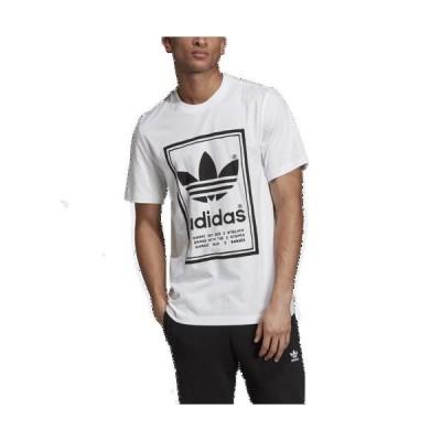 (取寄)アディダス メンズ オリジナルス ビンテージ ショートスリーブ TシャツMen's adidas Originals Vintage S/S T-Shirt White Black