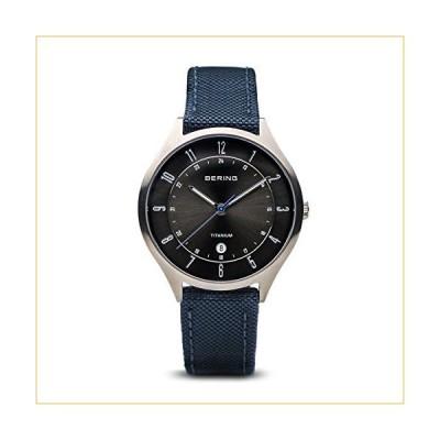 BERING Time   Men's Slim Watch 11739-873   39MM Case   Titanium Collection   Nylon Nato Strap   Scratch-Resistant Sapphire Crystal   Minimalistic - De