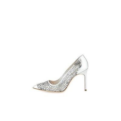 ハイヒール マノロブラニク Manolo Blahnik BB 105 BBMI Laser SILVER Patent Shoes 37 38.5 40 41 Wedding