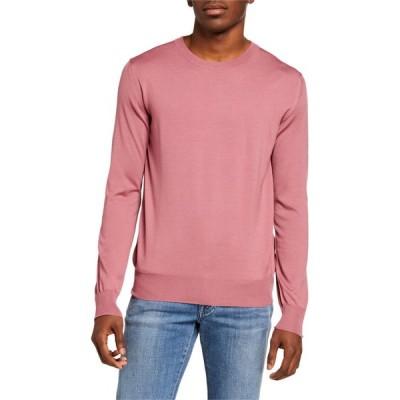 ブリオーニ メンズ ニット・セーター アウター Men's Solid Merino Wool Crewneck Sweater