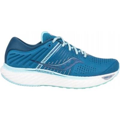 サッカニー Saucony レディース ランニング・ウォーキング シューズ・靴 Triumph 17 Running Shoes Blue/Aqua