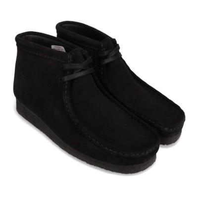 クラークス Clarks ブーツ ワラビーブーツ (Black Sde) 20FA-I