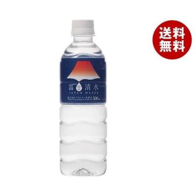 送料無料 ミツウロコ 富士清水 JAPAN WATER 500mlペットボトル×24本入