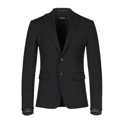 ディースクエアード DSQUARED2 テーラードジャケット ブラック 54 バージンウール 65% / レーヨン 32% / ポリウレタン 3%
