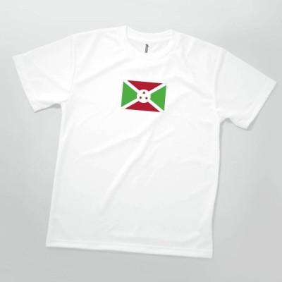 Tシャツ ブルンジ共和国 国旗