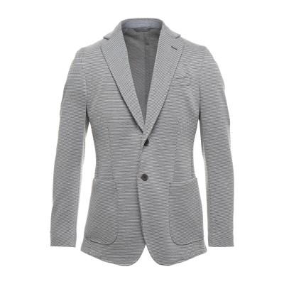 TOMBOLINI テーラードジャケット ダークブラウン 48 コットン 95% / ポリウレタン 5% テーラードジャケット