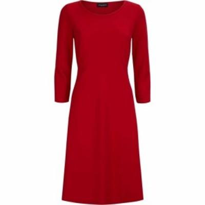 ジュームズ レイクランド James Lakeland レディース ワンピース ワンピース・ドレス Plain A-Line Dress Red