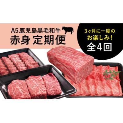 【特撰定期便】A5等級鹿児島黒毛和牛赤身定期便