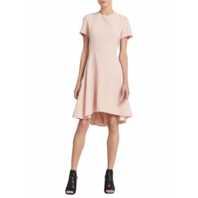 ドナカラン レディース ワンピース Flounce Fit-&amp-Flare Dress