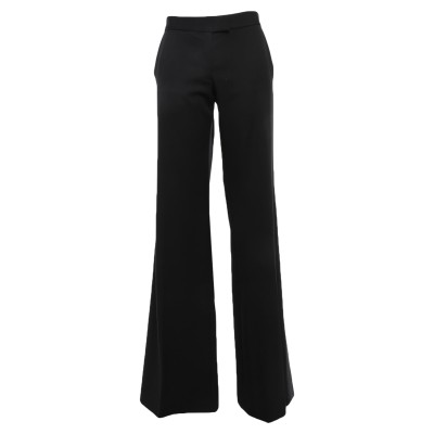 ステラ マッカートニー STELLA McCARTNEY パンツ ブラック 44 ウール 100% / ポリエステル / シルク パンツ