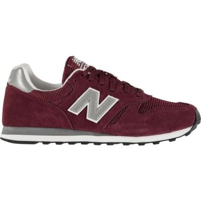 ニューバランス New Balance レディース スニーカー シューズ・靴 373 Trainers Burgundy