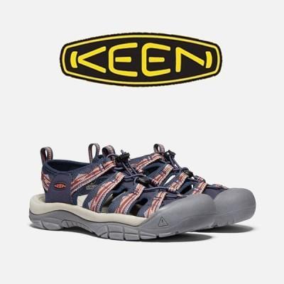 【20AW】KEEN(キーン)メンズ サンダルNEWPORT H2 ニューポート エイチツー カラー:Navy/Gold Flame [1023416]  国内正規取扱店 2020SS 【0400001660324】
