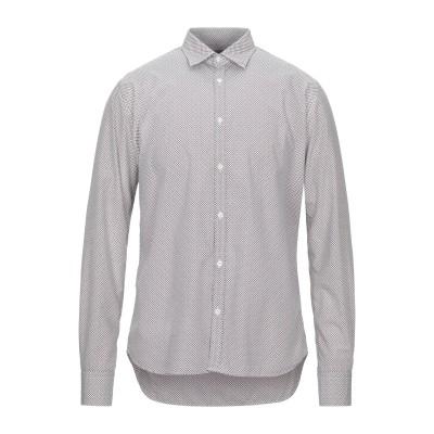 アリーニ AGLINI シャツ ホワイト 40 コットン 100% シャツ