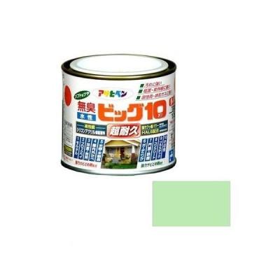 アサヒペン  4970925434210 水性ビッグ10多用途1/5L213パステルグリーン