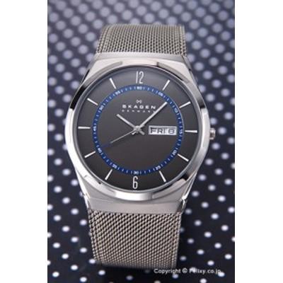 スカーゲン 時計 メンズ SKAGEN 腕時計 SKW6078 アクティブ グレー×ネイビー