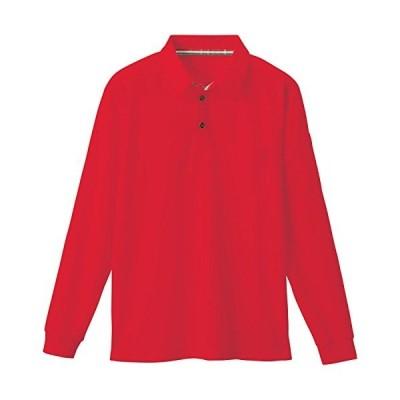 SOWA(ソーワ) 長袖ポロシャツ レッド LLサイズ 50130